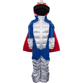 WeeDo Powdo Commander Snowsuit Boys, silver blue